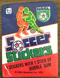 1979 Topps NASL Soccer Stickers wax pack