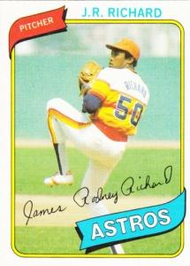 1980 Topps JR Richard