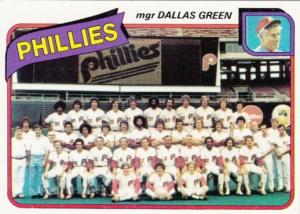 1980 Topps Philadelphia Phillies