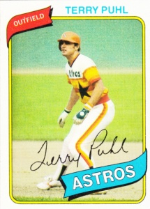 1980 Topps Terry Puhl