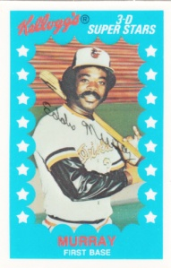 1982 Kellogg's Eddie Murray