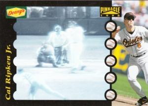 1996 Pinnacle Denny's Hologram Cal Ripken