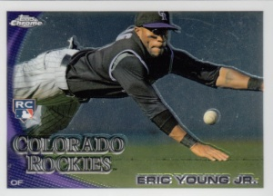 2010 Topps Chrome Eric Young Jr