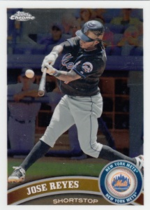 2011 Topps Chrome Jose Reyes