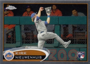 2012 Topps Chrome Kirk Nieuwenhuis