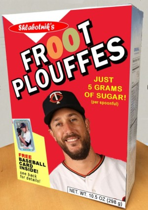 Froot Plouffes Cereal Box A