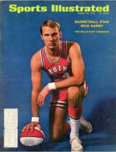 rick barry sports illustrated cover 8-24-1970