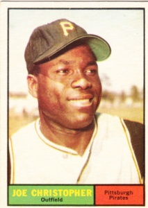 1961 Topps Joe Christopher