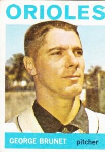 1964 Topps George Brunet