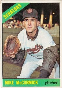 1966 Topps Mike McCormick