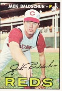 1967 Topps Jack Baldschun