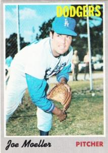 1970 Topps Joe Moeller