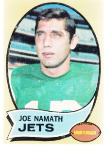 1970 Topps Joe Namath