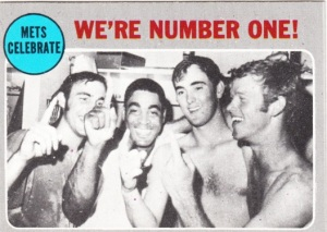 1970 Topps Mets Celebrate