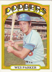 1972 Topps Wes Parker