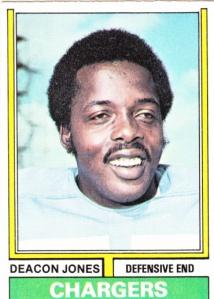 1974 Topps Football Deacon Jones