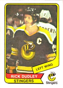 1976-77 OPC WHA Rick Dudley