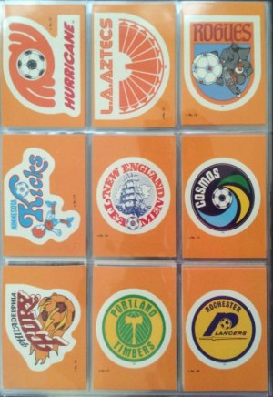 1979 Topps Soccer Stickers 10 - 18