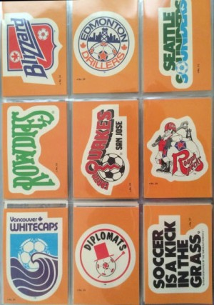 1979 Topps Soccer Stickers 19 - 27