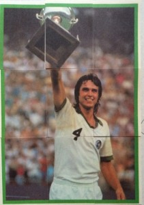 1979 Topps Soccer Stickers Werner Roth puzzle