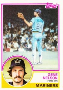 1983 Topps Gene Nelson