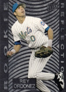 1997 Fleer Ultra Rookie Reflections Rey Ordonez