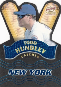 1998 Pacific Paramount Team Checklist Todd Hundley