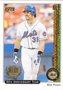 1999 Upper Deck 10th Anniversary Team Mike Piazza