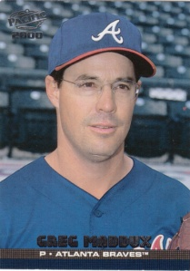 2000 Pacific Greg Maddux (portrait)