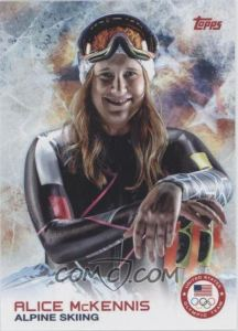 2014 Topps U.S. Olympic & Paralympic Team and Hopefuls Alice McKennis
