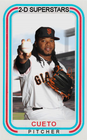 2015-16 TSR Hot Stove #4 - Johnny Cueto