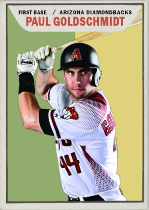 2015-16 TSR Hot Stove CFL-5 Paul Goldschmidt