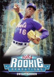 2015 Topps Update Rooke Sensations Dwight Gooden