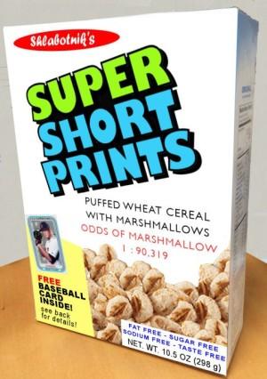 Super Short Prints Cereal