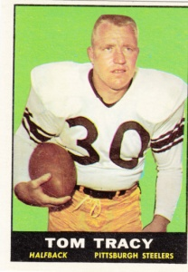 1961 Topps Football Tom Tracy