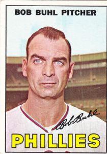 1967 Topps Bob Buhl