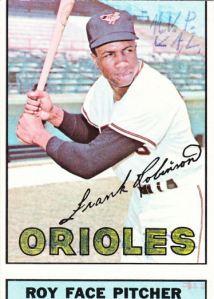 1967 Topps Frank Robinson