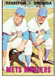 1967 Topps Kranepool Swoboda Mets Maulers