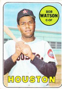 1969 Topps Bob Watson