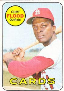 1969 Topps Curt Flood