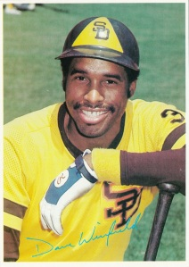 1980 Topps Super Dave Winfield