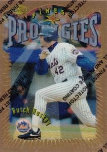 1996 Topps Finest Butch Huskey
