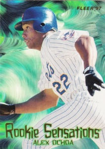 1997 Fleer Rookie Sensations Alex Ochoa