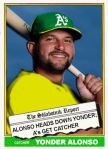 2015-16 TSR Hot Stove 76T-2 Yonder Alonso