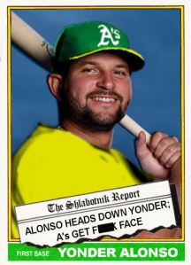 2015-16 TSR Hot Stove 76T-2a Yonder Alonso F-Face
