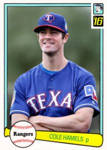 2016 TSRchives 82D-6 Cole Hamels