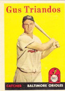 1958 Topps Gus Triandos