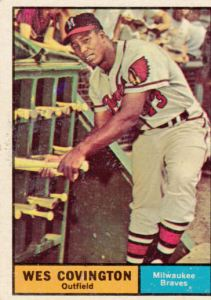 1961 Topps Wes Covington