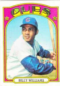 1972 Topps Billy Williams