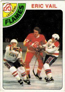 1978-79 TOpps Hockey Eric Vail